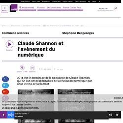 Claude Shannon et l'avènement du numérique
