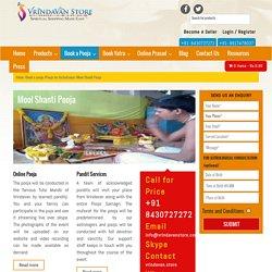 Mool Shanti Puja Online On Vrindavan Store