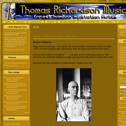 Thomas Richardson Music - Kung Fu Flutes, Kill Bill Flute Replicas, Zen Flutes, Raga Flutes, &Quenas beautifully made here!