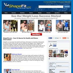 Get Into Shape Stay Fit - Meal Plans & Workout Routines To Burn Fat & Build Muscle
