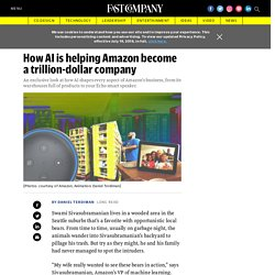 How AI has shaped every Amazon business