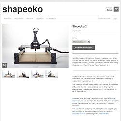 Shapeoko 2