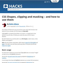 CSS Shapes, clipping and masking – and how to use them