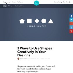 5 Ways to Use Shapes Creatively in Your Designs