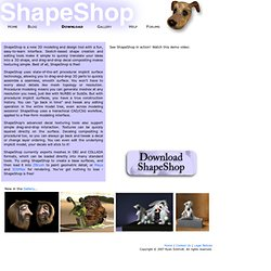 ShapeShop (free)