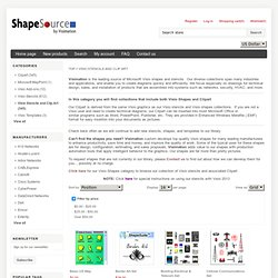 Visio Shapes and Clip Art - ShapeSource by Visimation - Waterfox