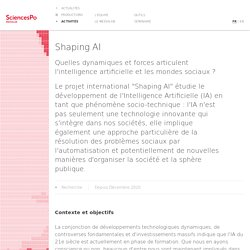 Shaping AI