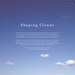Shaping Clouds
