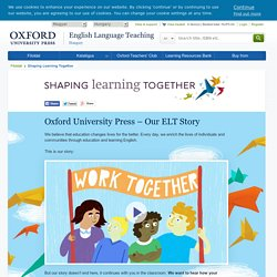 Shaping Learning Together
