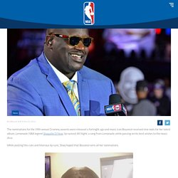 NBA legend Shaquille O'Neal Wishes Beyoncé With Hilarious Lip-Sync