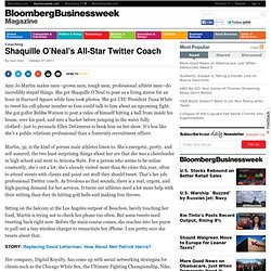 Shaquille O'Neal's All-Star Twitter Coach