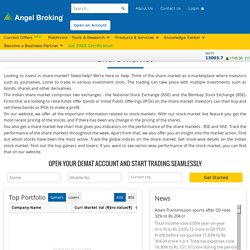 All About Share Market: Indian Stock Market Live by Angel Broking