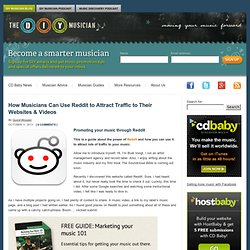 How to Share and Promote Your Music on Reddit DIY Musician Blog