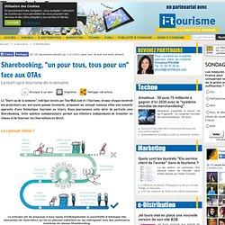 """Sharebooking, """"un pour tous, tous pour un"""" face aux OTAs"""