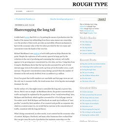 Rough Type: Nicholas Carr's Blog: Sharecropping the long ta