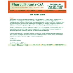 Shared Bounty CSA