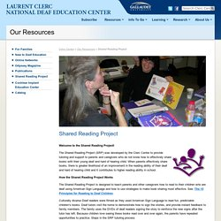 Shared Reading Project