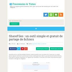 un outil simple et gratuit de partage de fichiers