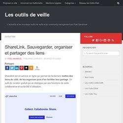 ShareLink. Sauvegarder, organiser et partager des liens