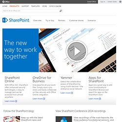 SharePoint | Collaboration Software for the Enterprise