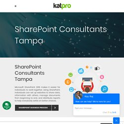 SharePoint Consultants Tampa Florida - Katpro