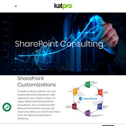 Sharepoint Consulting Firms - Katpro