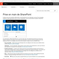 Prise en main de SharePoint - Support Office