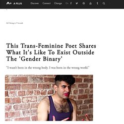 Alok Vaid-Menon Shares The Pain And Empowerment Of Being Transgender