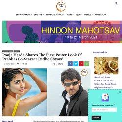 Pooja Hegde Shares The Poster Of Prabhas Co-Starrer Radhe Shyam!