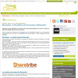 Sharetribe : le WordPress de l'économie collaborative