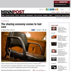 The sharing economy comes to hair care