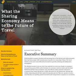 What the Sharing Economy Means to the Future of Travel – Skift