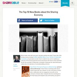 The Top 10 New Books about the Sharing Economy