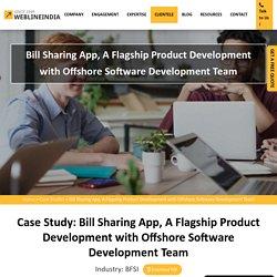 Bill Sharing App, A Flagship Product Development