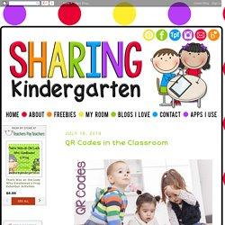 Sharing Kindergarten: QR Codes in the Classroom