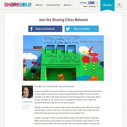 Join the Sharing Cities Network