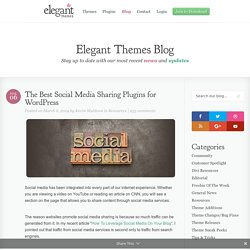 The Best Social Media Sharing Plugins for WordPress