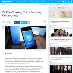 22 File-Sharing Tools for Easy Collaboration