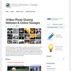 10 Best Photo Sharing Websites & Online Storages