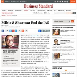 Business Standard Mobile Website