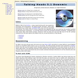 Talking Heads 5.1 Downmix