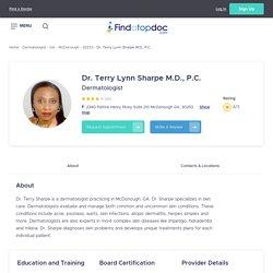 Terry Lynn Sharpe M.D., P.C., Dermatologist in McDonough, GA, 30253