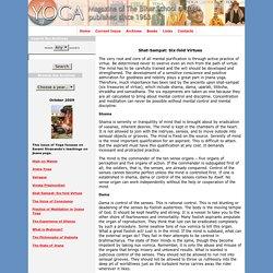 Shat-Sampat: Six-fold Virtues