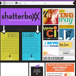 Shatterboxx — Warning: may cause designgasm