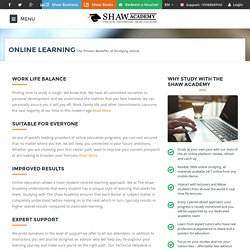 Why Online Learning