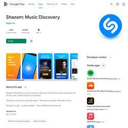 Shazam - Android Market