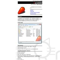 s Shed - WebDAV Client CarotDAV -