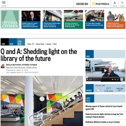 Q and A: Shedding light on the library of the future