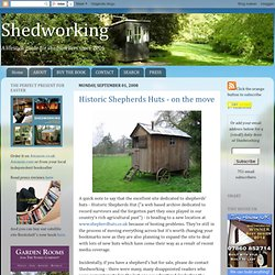 Historic Shepherds Huts