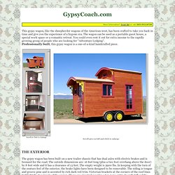 Gypsy Wagon, Gypsy Coach, Sheepherder Wagon, Portable Guest House, Lafayette, CO, near Boulder, Colorado